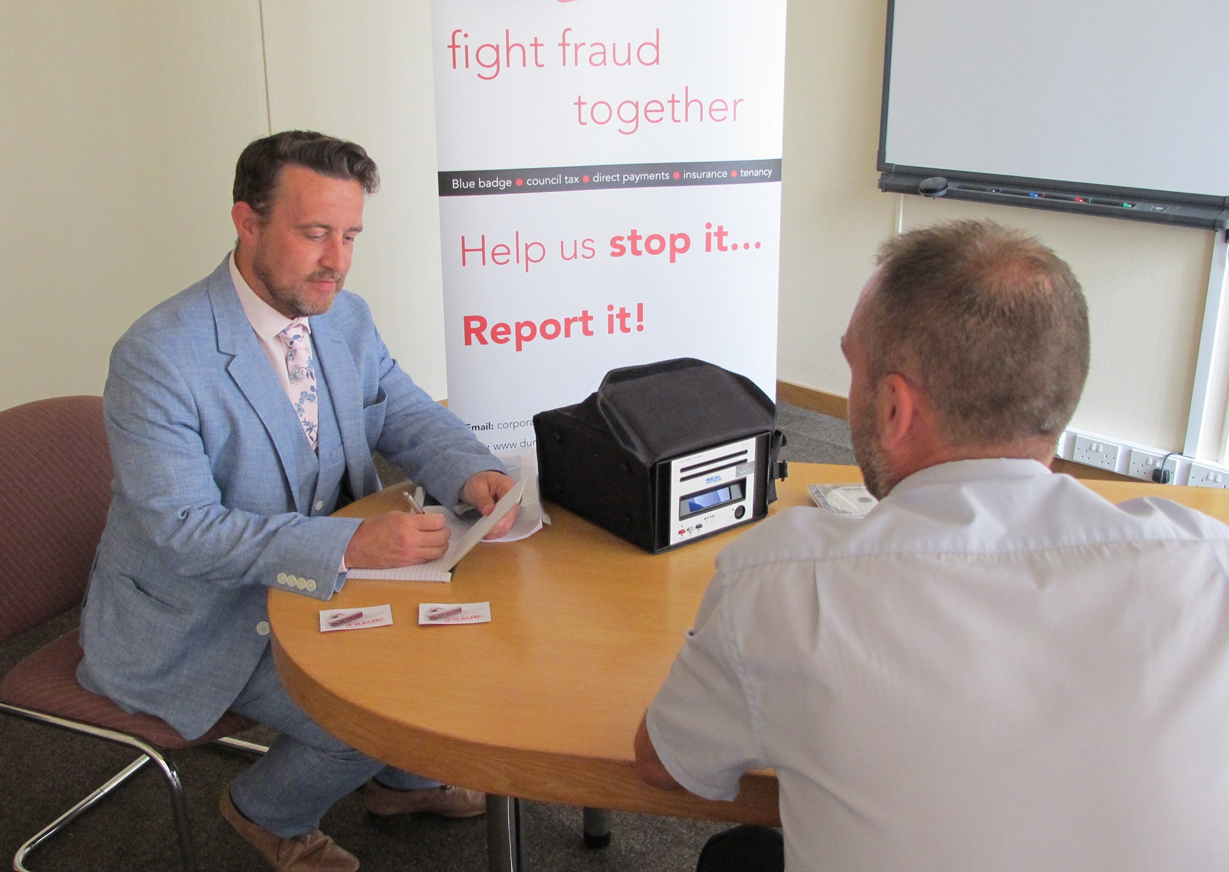 Residents asked to help fight fraud